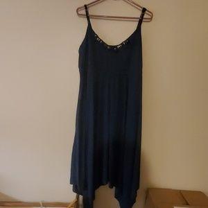 """Simply Vera Vera Wang """"XL"""" Blue Dress"""